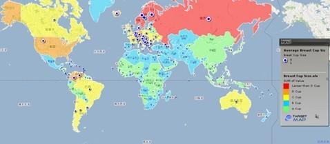 从世界看中国地图