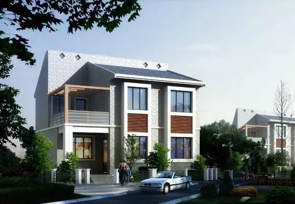 5套造价15万以内农村小二层自建房设计图