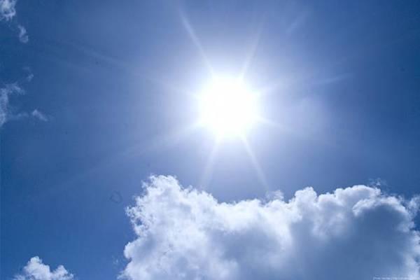 护眼壁纸 太阳风景