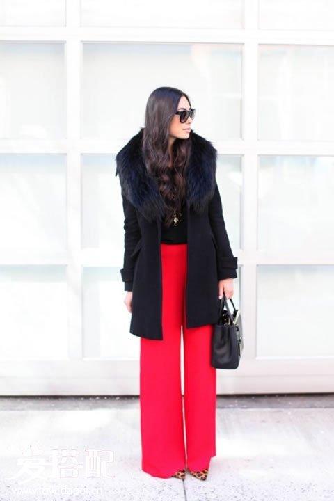 一件皮草领子的大衣, 让你足够的优雅和奢华图片