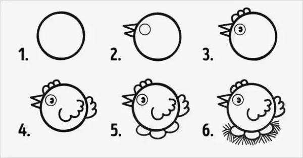 是不是很简单呢? 不妨有时间,和孩子一起,画出一个个可爱的小动物,迸发更多想象力,收获一个多彩有爱的童年! The End 今天就先分享到这了,一个真正好的老师,不是教孩子多少知识点,而是传授好的学习方法。如果您在孩子教育和学习方面遇到了困难,期末想让孩子冲更高分,可以与我沟通,我将为您答疑解惑! 加我微信:jiyifa119(长按可复制),更多中小学学习方法和记忆方法会在我的免费网络公益课中分享,帮助孩子高效学习!