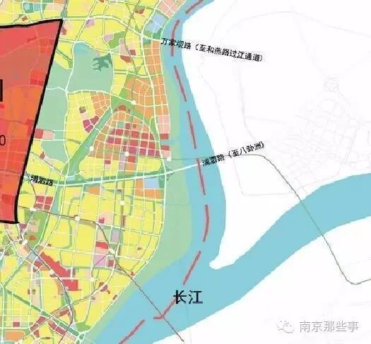 通道 南京长江六桥 全长6公里,规划线路起于八卦洲上 -本地 定了
