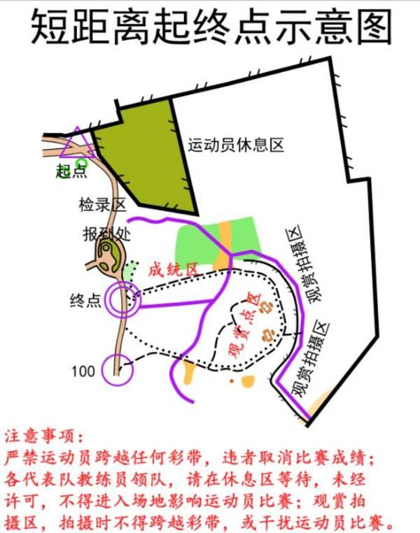 2016年北京市体育大会无线电测向定向竞赛 定向越野比赛 补充通知图片