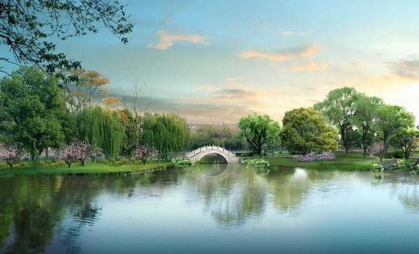 长桥的十八里相送,许白二人的断桥重逢,在悠远的传说中,隐藏着西湖图片