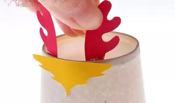 课堂手工:纸杯手工龙制作方法鼓是怎么打的教成图片