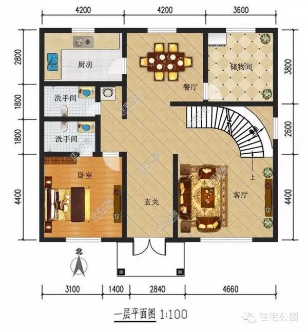 8套新农村自建房设计图纸,你还想在城市买房吗?
