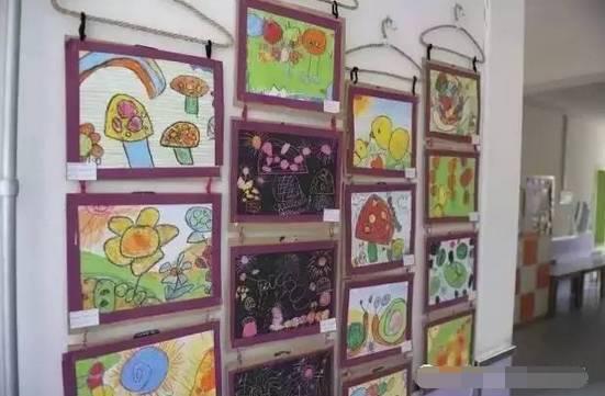 春暖花开,幼儿园主题墙及楼道环创布置!