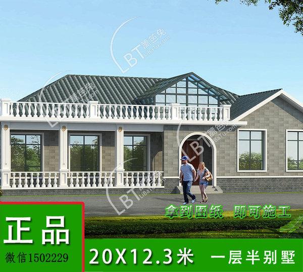 一层别墅v别墅别墅一层农村设计图外观房屋效iphone9设计图图片