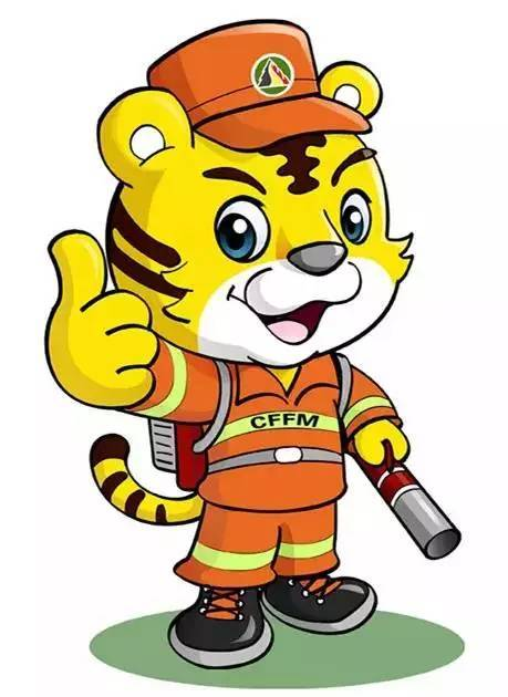 一个珲春小伙子手绘可爱公益漫画,讲述森林火灾应急防护知识
