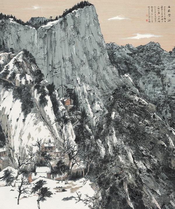 請你點評:第十二屆國展中國山水畫(獲獎部分)圖片